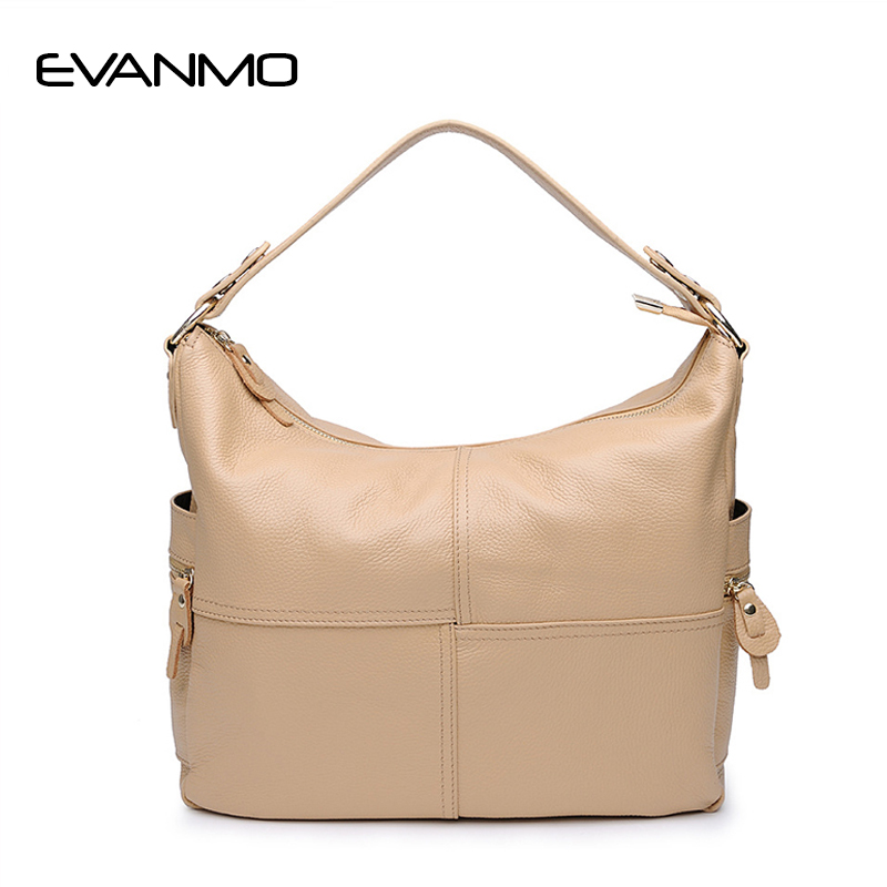 2017 Women Genuine Leather Bucket Bag High Quality Cowhide Handbags First Layer of Leather Designer Vintage Bag Bolsas Femininas