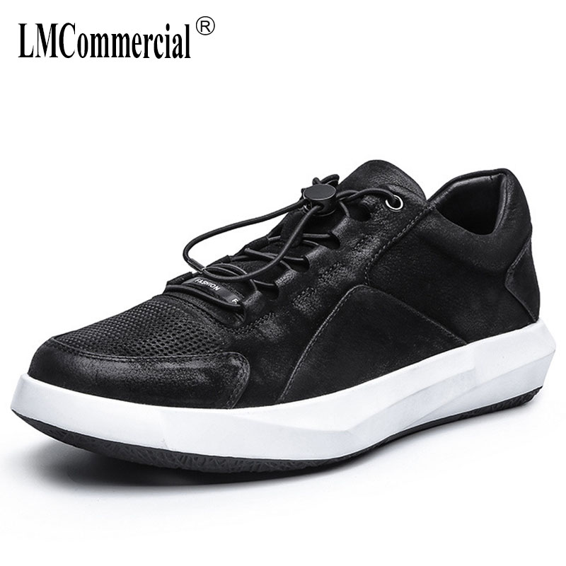 spring and autumn summer men's shoes British retro all-match cowhide genuine leather casual shoes men breathable sneaker Leisure men casual shoes cowhide soft bottom spring and summer doug shoes breathable leisure fashion british driving leather shoes