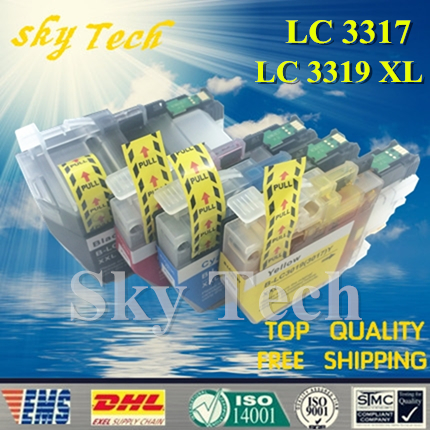 Compatible Ink Cartridge For LC3317 LC3319 XL For Brother MFC J5330DW MFC J5730DW MFC J6530DW MFC