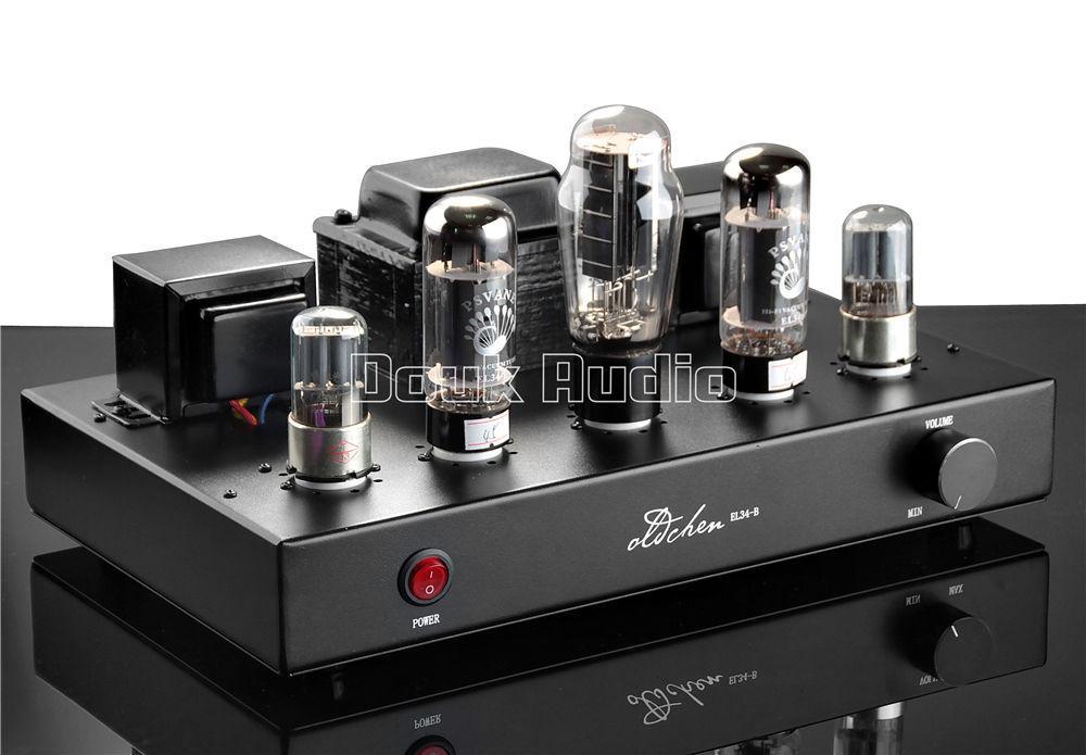 Nine Tube Stereo Amplifier 1