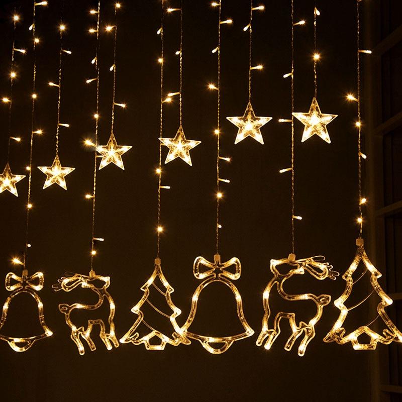 3M julklappstrålkastare nytt år fest bröllop hem - Festlig belysning
