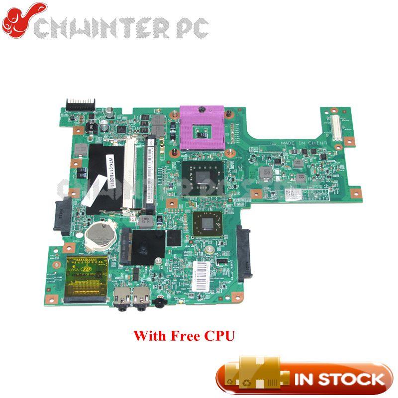 NOKOTION H314N 0H314N CN-0H314N 48.4AQ12.011 For Dell inspiron 15 1545 Laptop Motherboard PM45 HD4570M DDR2 Free CPU nokotion brand new qcl00 la 8241p cn 06d5dg 06d5dg 6d5dg for dell inspiron 15r 5520 laptop motherboard hd7670m 1gb graphics
