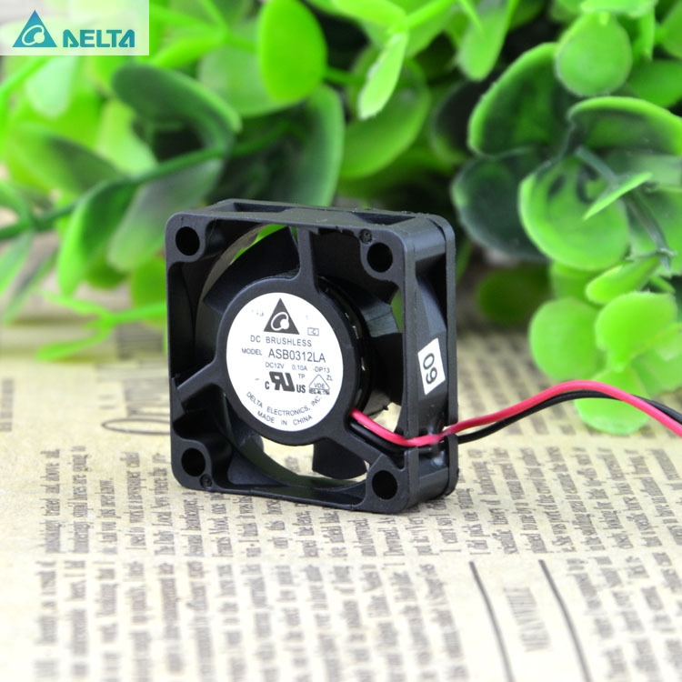 For Delta 3010 12V 0.12A ASB0312HA 3CM Micro HDD Enclosure Cooling Fan