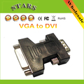 DVI 24+5 Female to VGA 15Pin Male Converter VGA to DVI adapter Support 1080P for HDTV LCD,Wholesale Free Shipping Dropshipping
