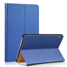 PU Leather-based Stand Cowl Case for Huawei Mediapad T3 10.zero 9.6 Inch Pill + 2Pcs Display screen Protector