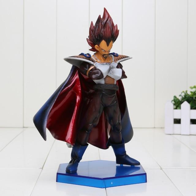 20 cm Dragon Ball Z Figuras de Ação Vegeta Pai O Rei De Super Saiyan Ação PVC Figura Coleção Modelo Brinquedos