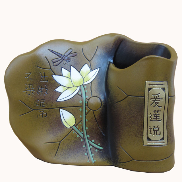 Lotus Leaf Pen Teachers Day Gifts Home Accessories Business Colleagues Birthday Gift Ideas Ceramic