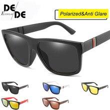 2019 New Square Polarized Sunglasses Men Women Brand Designer Driving Goggles Mirror Lens UV400 Sun Glasses Gafas HD