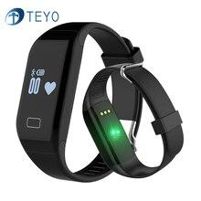Teyo Новый Смарт-Группы H3 Монитор Сердечного ритма Браслет Водонепроницаемый Фитнес-Трекер Pulsera Inteligent Часы Браслет для Andriod iOS