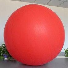 Красный овал латексные шары 72 дюймов одежда для свадьбы, дня рождения Декор гелиевых большой Гигантские Воздушные шары надувной воздушный шар выполнять шар