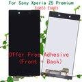 100% Оригинал Сенсорный ЖК-Экран Digitizer Ассамблеи Для Sony Для Xperia Z5 Premium E6883 Дисплей с Бесплатной Клей
