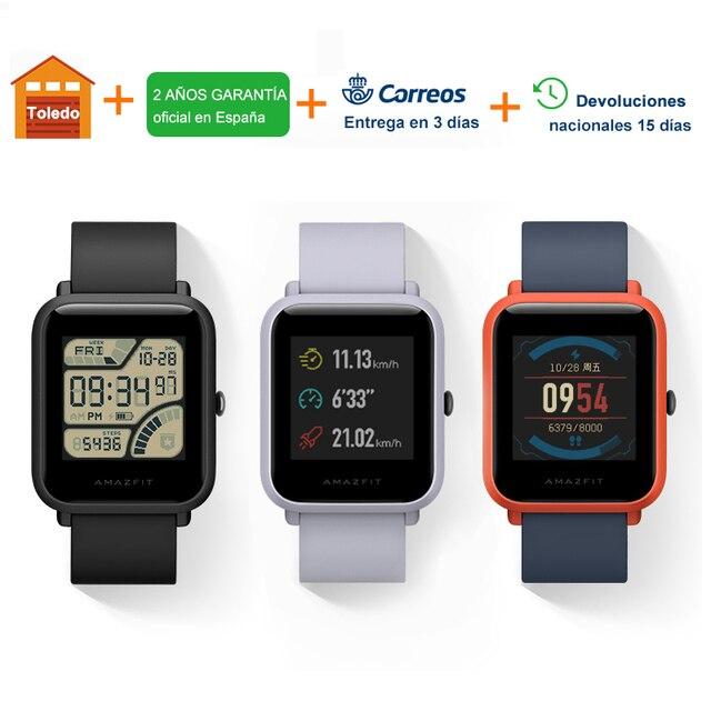 [Spanish Version] Amazfit Bip GPS Smart Watch Men Women Smartwatch Heart Rate 45 Days Standby IP68 2