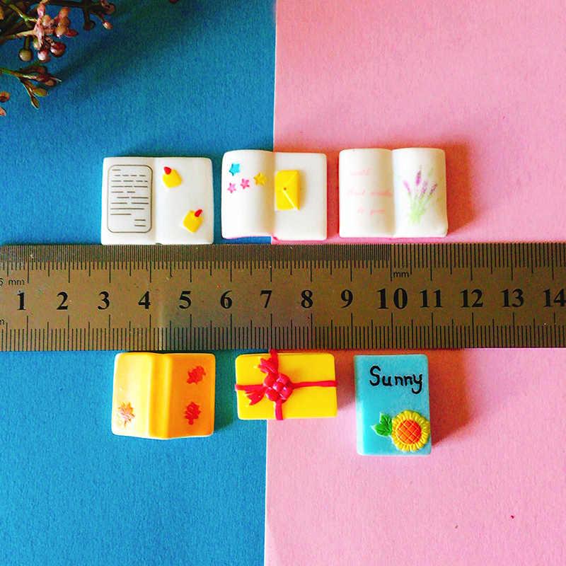 New~1 pcs mini books/fairy garden gnome/moss terrarium home decor/crafts/bonsai/bottle garden/miniatures/figurine/diy supplies