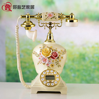 Good art garden antique telephone caller ID telephone Hampton European household ringing tones home Dial number