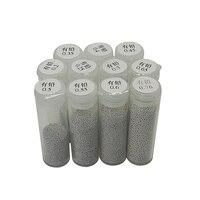 Eine Flasche 25K Leaded BGA Reballing Solder Ball (0 25  0 3  0 35  0 4  0 45  0 5  0 55  0 6  0 65  0 76)|Elektrowerkzeuge Zubehör|Werkzeug -