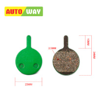 Autoway Bicycle  Disc Brake Pads For Magura Louise/ Clara 2000 Mountain Bike Resin Hydraulic Pad Semi - Metallic 6 Pairs