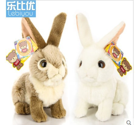 2015 hot sale 25cm Cute Baby Kids Animal Rabbit Sleeping Comfort Doll Plush Toy Free shipping hot sale cute baby kids animal white rabbit sleeping comfort doll plush toy baby small soft stuffed brinquedos for kids gift