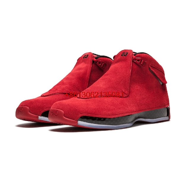 hot Retro 18 XVIII Men basketball shoes Gym Red Defining Moments Toro Outdoor Sport Sneaker New Arrival