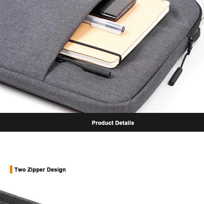 Чехол для ноутбука Macbook 13 15 дюймов водонепроницаемая сумка для ноутбука на молнии сумки для ноутбуков 15,6 дюймов чехол для hp Dell