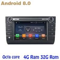 Восьмиядерный PX5 android 8,0 автомобиль gps dvd для Suzuki Swift 2004 2010 с 4 г Оперативная память 32 г rom WI FI 4 г bluetooth Зеркало Ссылка радио