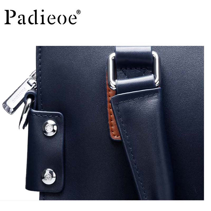 c4a87c35456a Ipad bag letter package designer leather classic men s travel bag big name  brand men s briefcase computer bag-in Briefcases from Luggage   Bags on ...
