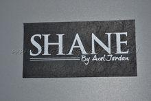 custom font b real b font font b leather b font labels for jeans clothing font