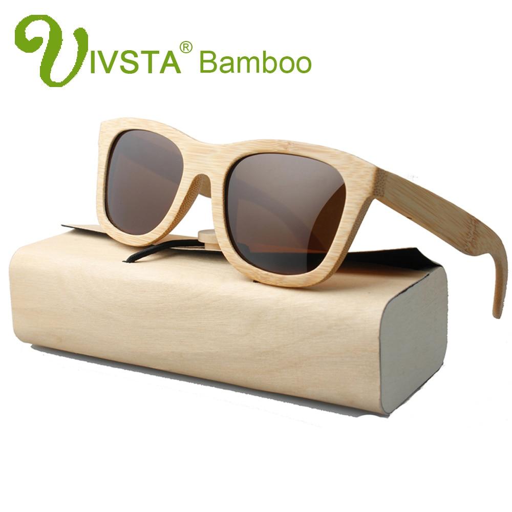 IVSTA Dřevěné bambusové sluneční brýle Pánské sluneční - Příslušenství pro oděvy