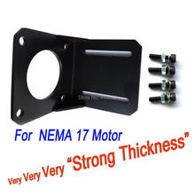 THICK AND STRONG! Bracket for NEMA 17 Stepper Motor Bolts for free Universal Application Bracket for Step Motor Mount of Stepper jbh 6n2 6p1 tube amplifier hifi exquis class a single ended lamp amp finished product with below plate