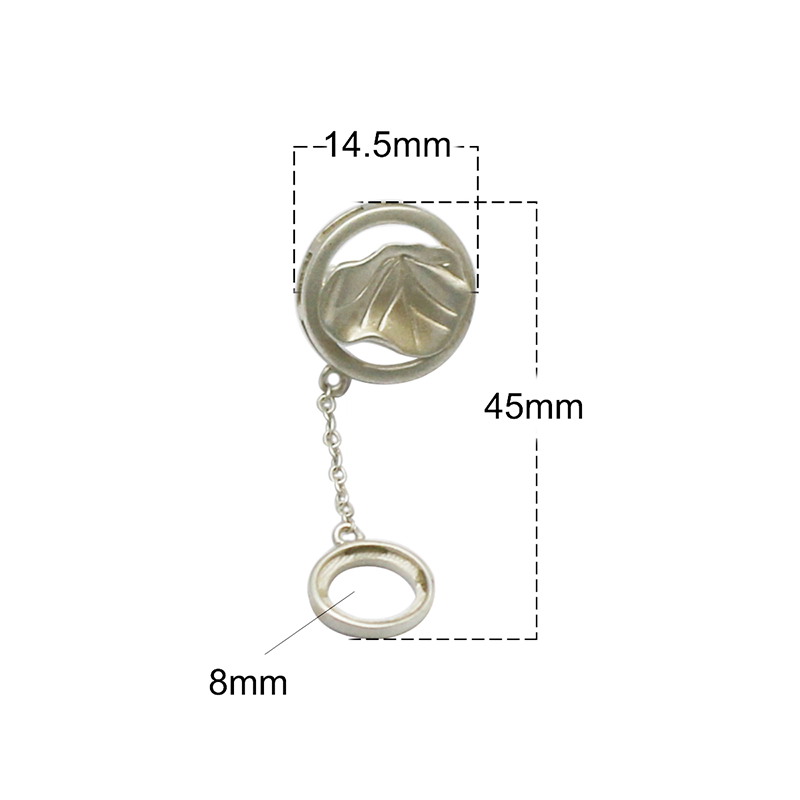 Beadsnice 925 argent Sterling Stud boucle d'oreille bijoux plateau pour boucle d'oreille cadeau pour elle ID37130 - 5