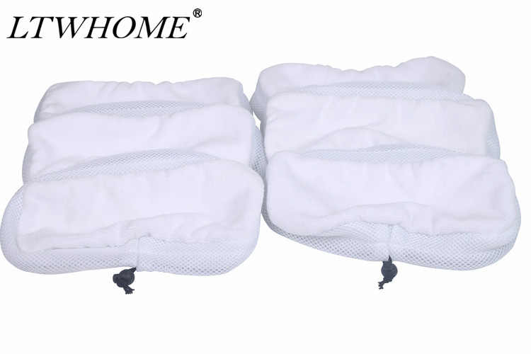 LTWHOME Microfibre Main Floor Cleaning Cloths Mop Pads Fit for Morphy Richards 9 in 1 720020
