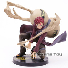 Anime Naruto Shippuden Sand Hidden Village Gaara 5Th Generation Kazekage GEM PVC Action Figure Collectible Model Toy