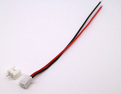 50 Sets JST XH 2.5-2 Pin Battery Connector Plug Female & Male with 120MM Wire RC Model Vehicle Parts & Accs Toys & Hobbies