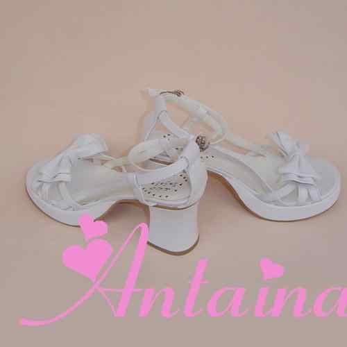 Prinses zoete lolita shose Loliloliyoyo antaina punk boog prinses sandalen an9146-1 bruin lolita schoenen zomer
