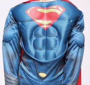 Image 4 - Purim Deluxe Muscle Superman Kostüm Weihnachten Kinder Kind Kostüme Halloween Party Karneval Cosplay Kostüme