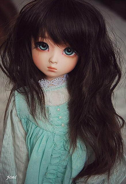 HeHeBJD 1/4 Girl Dami bjd (open eyes or ELF eyes)  beautiful girls for sale free shipping 5