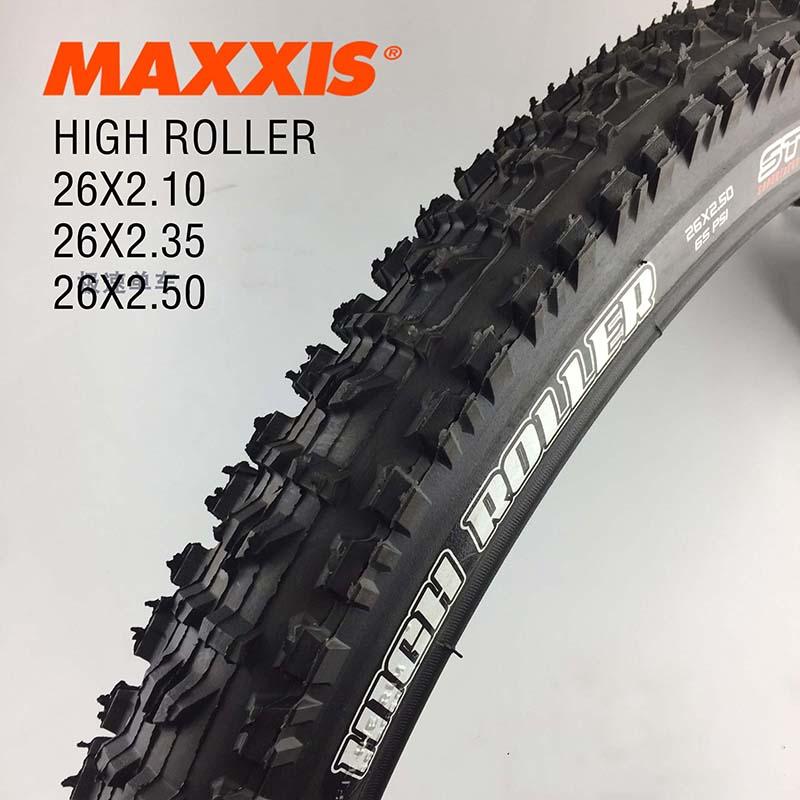 MAXXlS HIGH ROLLER bicycle tire 26 2 1 2 35 2 5 DownHill bike mountain bike