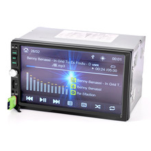 """Phổ 7 """"inch 2Din Car Stereo Chơi MP5 MP3 Màn Hình Cảm Ứng FM Đài Phát Thanh USB SD Bluetooth"""