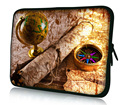 """Map and Compass  15"""" 15.6"""" Laptop Bag Sleeve Case Cover For HP Pavilion G6 DV6 ,Toshiba Dell XPS"""