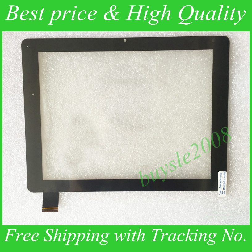 Original New Black 9.7 DNS AirTab ES9701 / MS9702 Tablet F-WGJ97087-V3 touch screen digitizer panel Sensor Glass Free Shipping