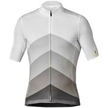 MAVIC 2019 Pro team летние свитера велосипед рубашка Для мужчин Велоспорт из Джерси для езды на велосипеде велосипедная Спортивная Одежда Майо Ciclismo дышащая