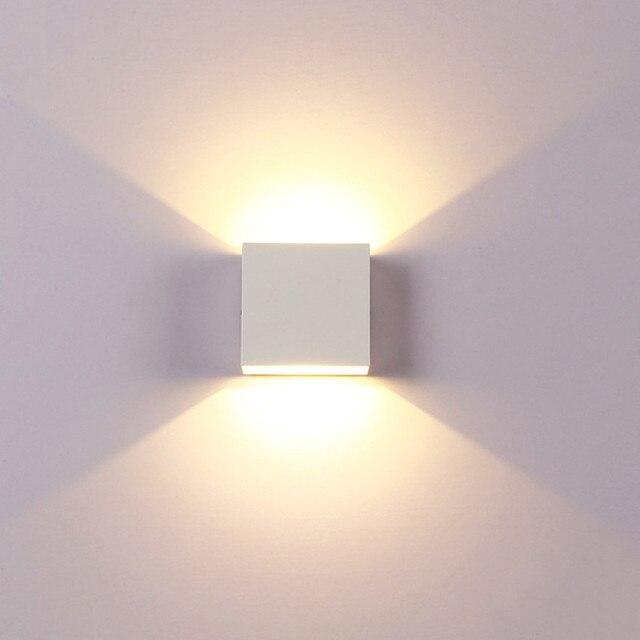 6W LED Wall Lamp Modern Bedroom Beside Reading