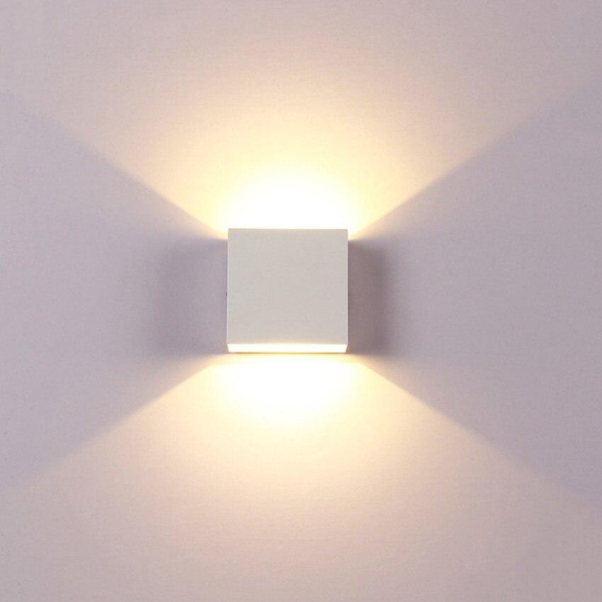 6 W LED Wand Lampe Moderne Schlafzimmer Neben Lesen Wand Licht Indoor Wohnzimmer Korridor Hotel Zimmer Beleuchtung Leuchte BL44