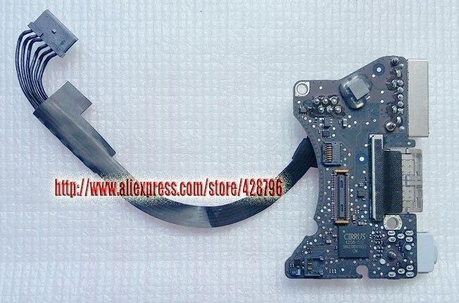 "820-3453-A, USB maitinimo lizdo plokštė knygų orui 11 ""A1465 2013 2014, MD711LL / A, I / O BOARD"