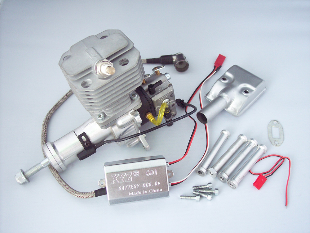 XYZ 26S 26CC Gasoline Engine / Petrol Engine for RC Airplane xyz 20cc gasoline engine petrol engine for rc airplane