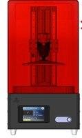 Двойной трек rail поколения 3 X CUBE ЖК дисплей 3D принтер SLA УФ отверждения светочувствительной смолы печати Размеры 120X60X200 мм