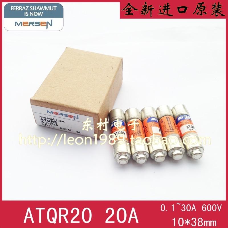 [SA]Roland FERRAZ MERSEN Fuses AMP-TRAP fuse ATQR20 20A 600V [sa]roland ferraz mersen fuses amp trap fuse atqr10 10a 600v 5pcs lot