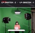 Falconeyes Новый IV LP-2805TDX 140 Вт Панель Светодиодная лампа для камеры профессиональное освещение с DMX Ra96 3000 K-8000 K CD50 T06