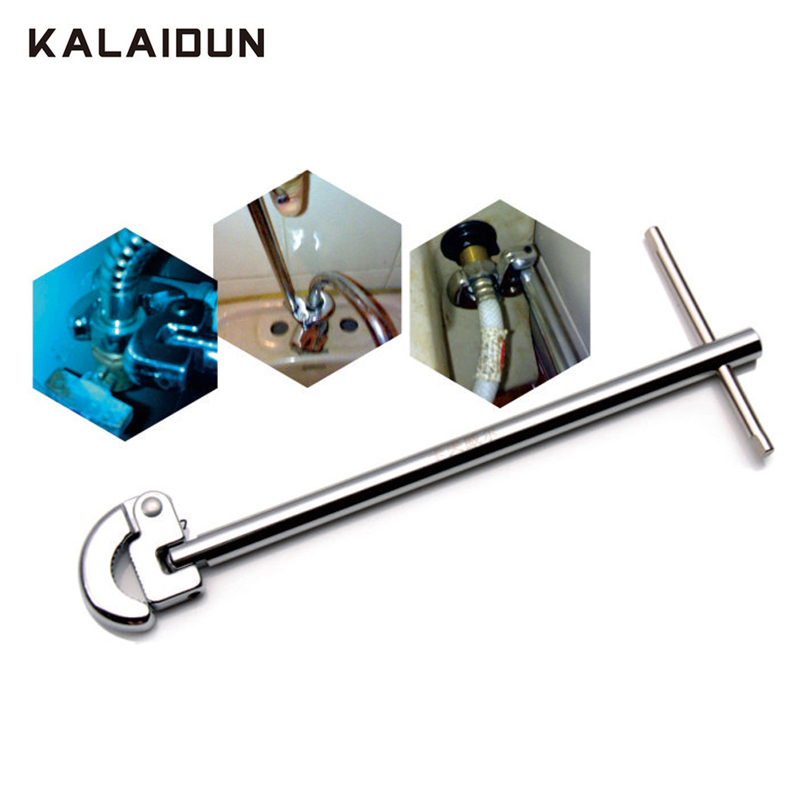 KALAIDUN Adjustable Basin Wrench 12 Inch 8-28 Mm Torque Wrench 200N.m Spanner Multitul Universal Key