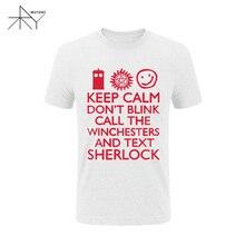 Supernatural/Sherlock Winchester Bros T-Shirt