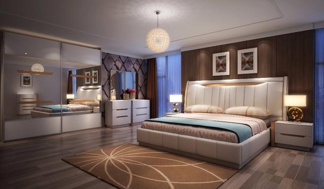 2018 Limited moderno juego De dormitorio De Maquillage noche lujo ...